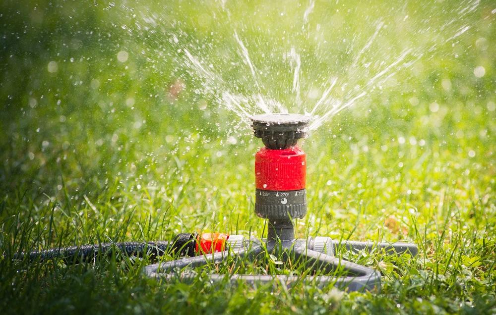 Gardena zoommaxx oscillating sprinkler review yard